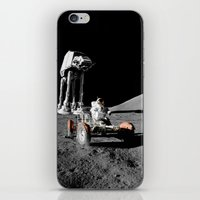 Battle Of Moon iPhone & iPod Skin