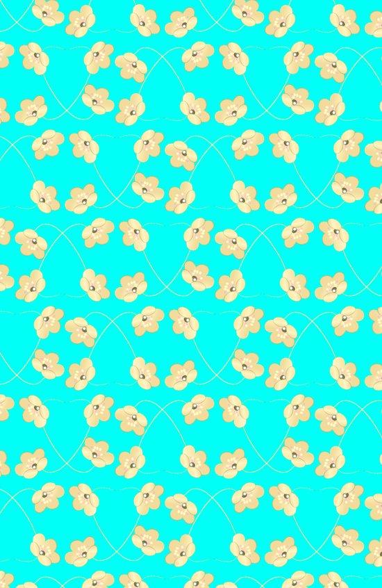 PATTERN FLOWERS Art Print