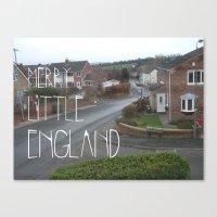 Merry Little England Canvas Print