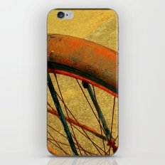 Vintage Bike Fall Home Decor Color iPhone & iPod Skin