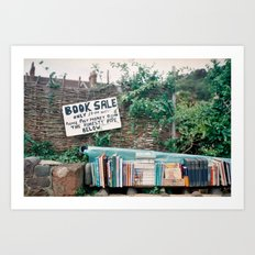 Book Sale Art Print