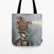 The Projectionist (colou… Tote Bag