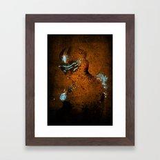 Dead Splash Framed Art Print