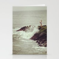 Fisherwoman Stationery Cards