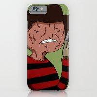 Adventure Time with Freddy Krueger iPhone 6 Slim Case