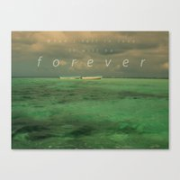 When I Fall In Love.... Canvas Print