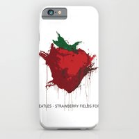 iPhone & iPod Case featuring Strawberry Fields Forever  by Koichi Endo