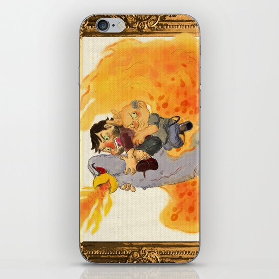 """Rize of the Fenix"" by Virginia McCarthy & Cap Blackard iPhone & iPod Skin"