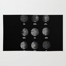 The Death Star Moon phase. Rug