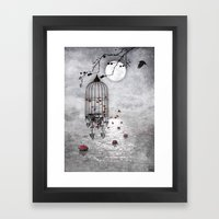Le Vent Nous Portera ...… Framed Art Print