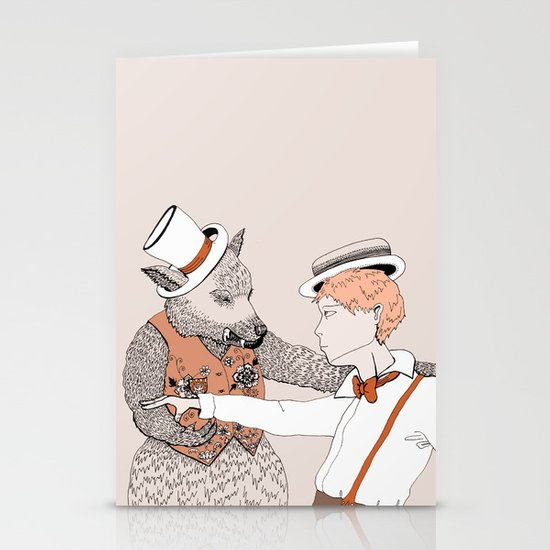 Dansons... Stationery Card