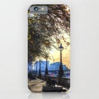 River Thames Path Oil iPhone 6 Slim Case