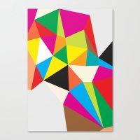 Tumble Canvas Print