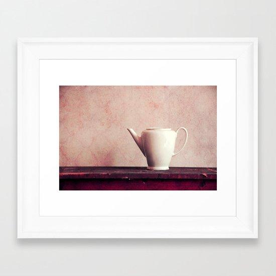 Caffè? Framed Art Print