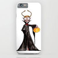 iPhone & iPod Case featuring Vampire Girl by Kevin Van Gysel