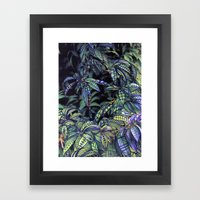 leaves evolved 4 Framed Art Print