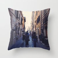 Rambla Throw Pillow