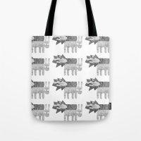 Quick Rabbits Tote Bag