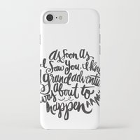 adventure iPhone & iPod Cases featuring grand adventure by Matthew Taylor Wilson