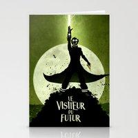 LE VISITEUR DU FUTUR - NO FUTURE Stationery Cards