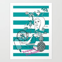 Summer Sunshine Art Print