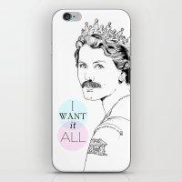 I Want It All iPhone & iPod Skin