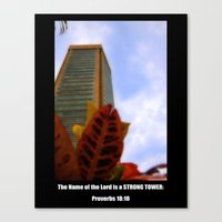 Strong Tower Poster Canvas Print