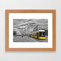 Berlin Alexanderplatz II Framed Art Print