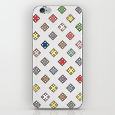 Colors in the city iPhone & iPod Skin