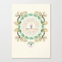 Yoga Garden I Canvas Print