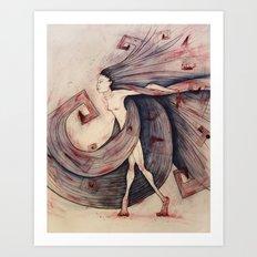 Succubus Art Print