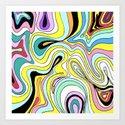 Whirly Dhirly Art Print