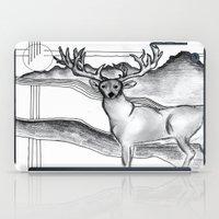 Blue Ridge Deer iPad Case
