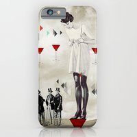 iPhone & iPod Case featuring Women thoughts by Olga Whass