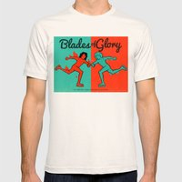 Blades of Glory Mens Fitted Tee Natural SMALL