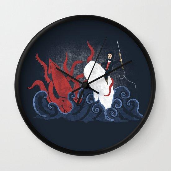Dangerous Waters Wall Clock