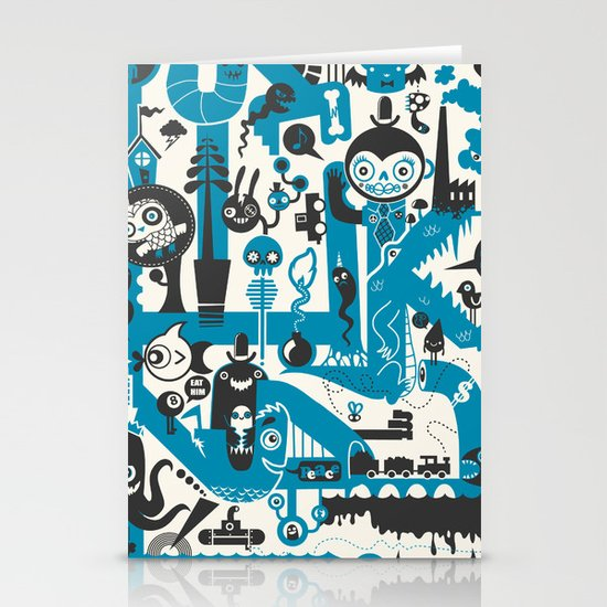 Incognito Stationery Card
