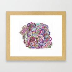 Fiesta Bowl Framed Art Print
