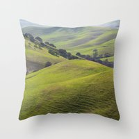 Diablo Hills Throw Pillow
