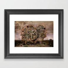 Old company Framed Art Print