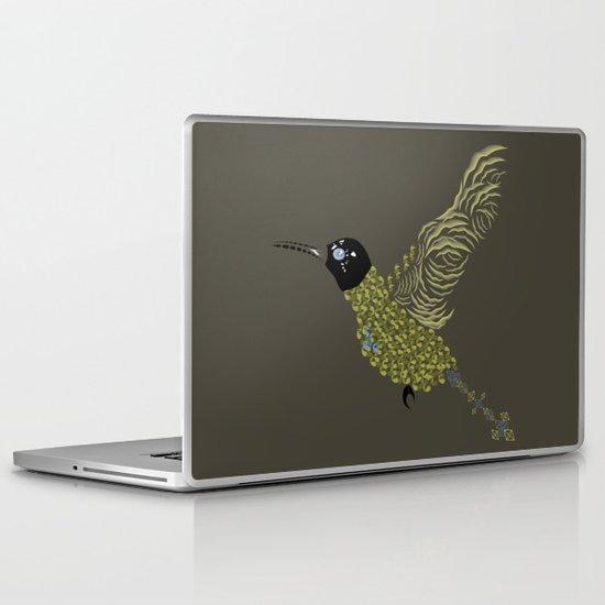 Abstract Hummingbird Laptop & iPad Skin