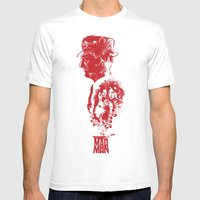 MADMAN Mens Fitted Tee White SMALL