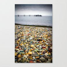 Llandudno Rocks Canvas Print