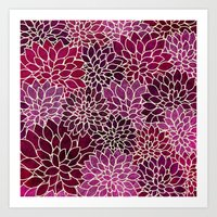 Floral Abstract 12 Art Print