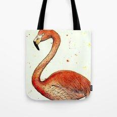 Colourful Flamingo  Tote Bag
