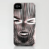 iPhone 4s & iPhone 4 Cases featuring Badwood 3D Ski Mask by Badwood