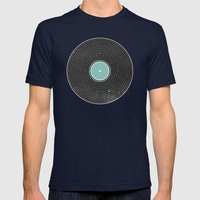 Space Disco Mens Fitted Tee Navy SMALL