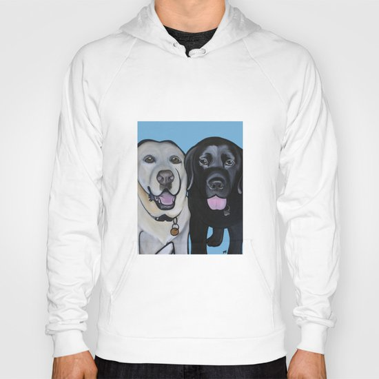 Indie & Daisy the labs Hoody