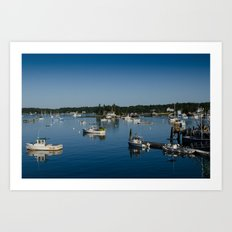 Boothbay Harbor Art Print