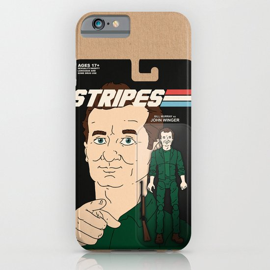 Stripes Action Figure iPhone & iPod Case